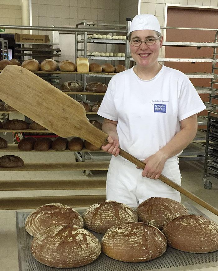 Bäckerei May Niedersonthofen / Waltenhofen - Backstube