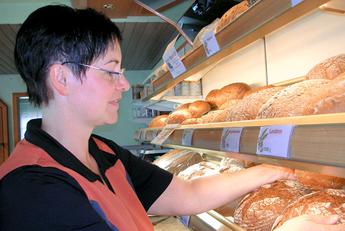 Bäckerei May Niedersonthofen / Waltenhofen - Karin May